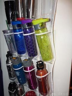 water bottle organizer shoe organizer
