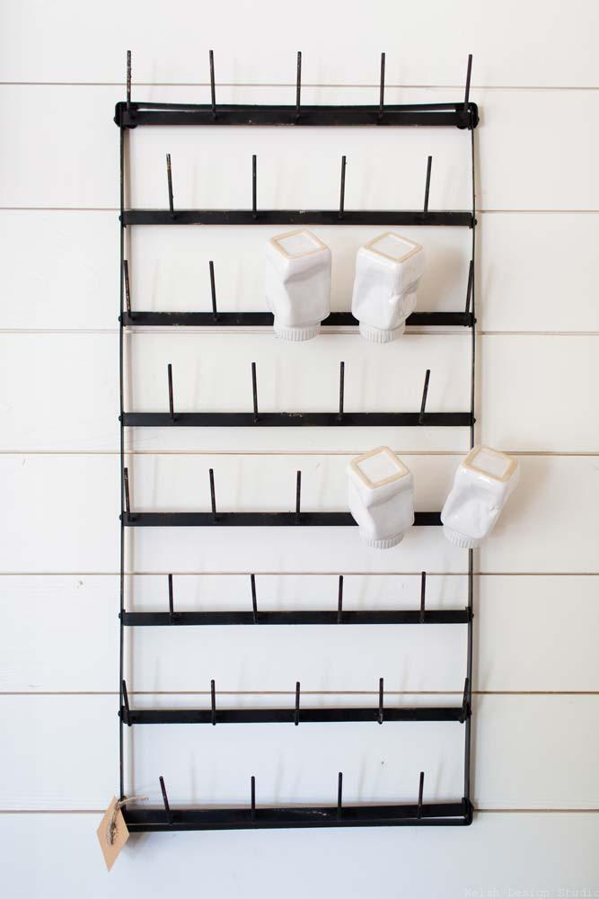 fixer upper cup rack