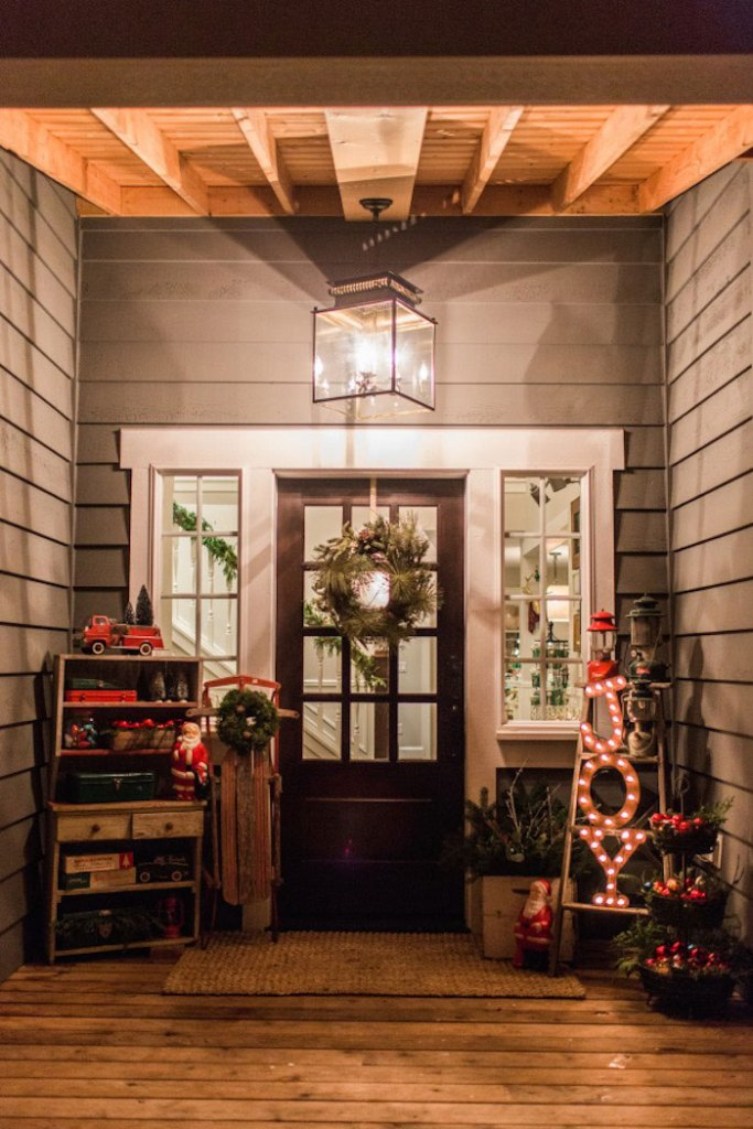Christmas Front Porch Decorating Ideas Welsh Design Studio