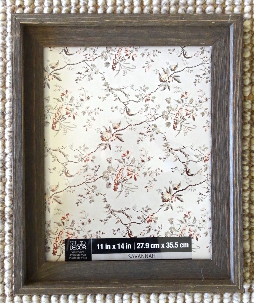 rustic frame for diy printable artwork