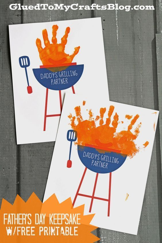 father's day grill printable