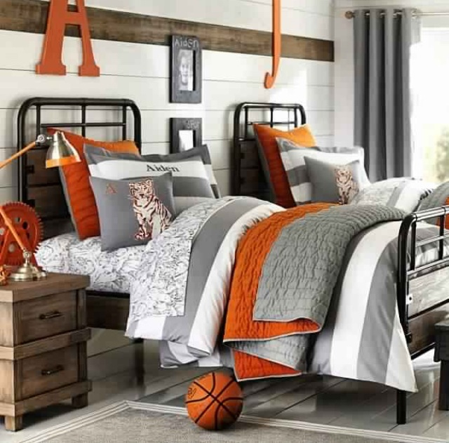 color schemes for a boy's bedroom