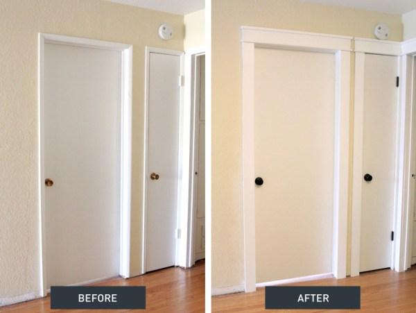 craftsman door trim