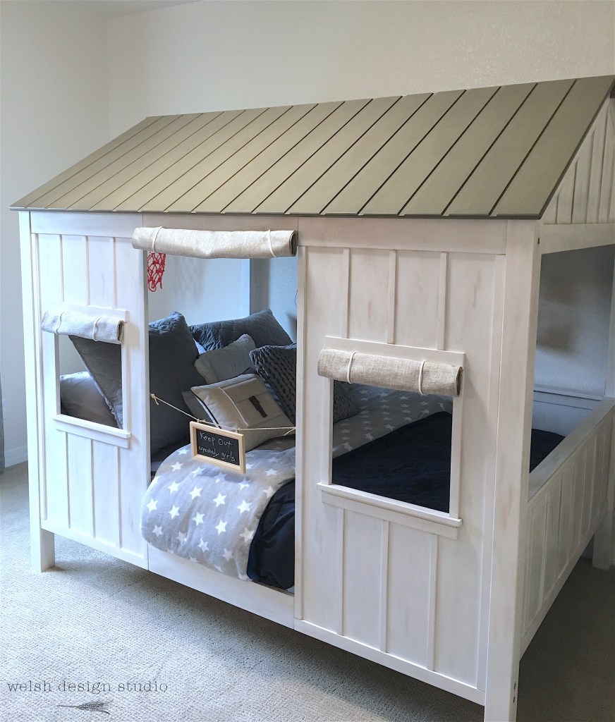 fort bed for kids