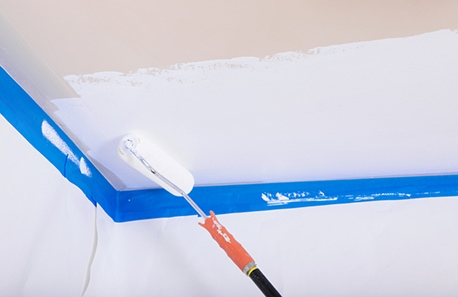 painting ceilings white