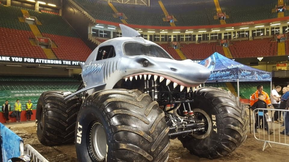 Monster Jam, Cardiff - 2019 Review & Results #AD-gifted