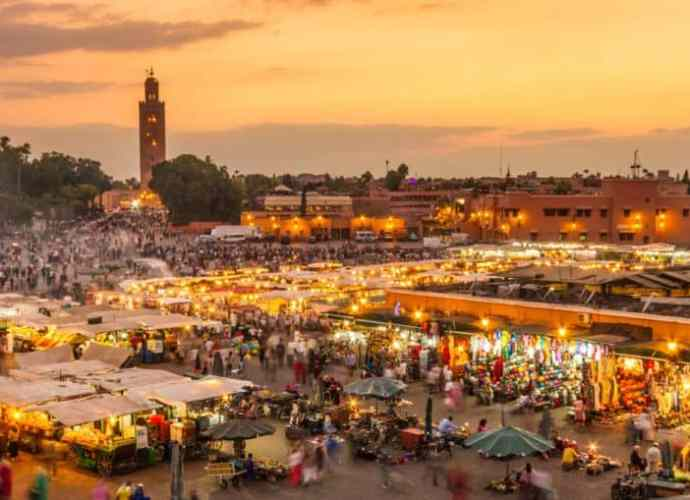Jamaa el Fna Marktplatz