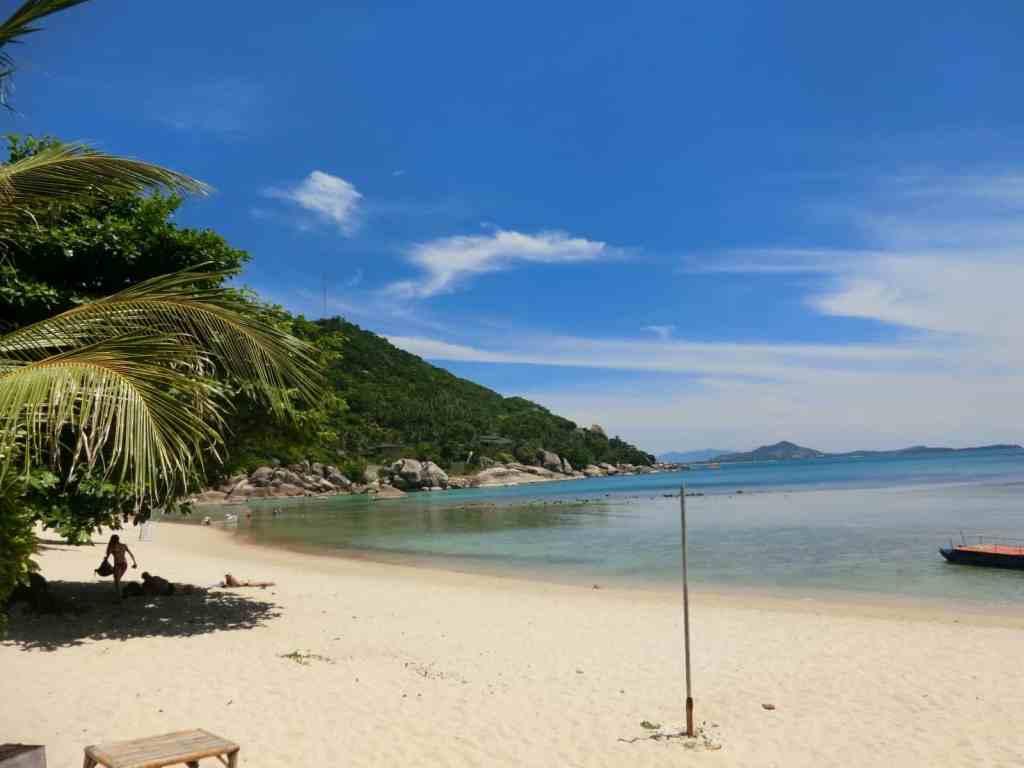Strand unter Palmen bei Hua Hin
