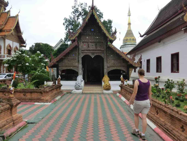 Kleiner Tempel in Chiang Mai