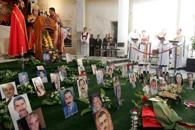 Weihnachtsgottesdienst in der Kathedrale in Bagdad