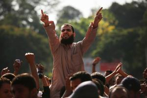 Morsi Supporters Gather After Friday Prayers
