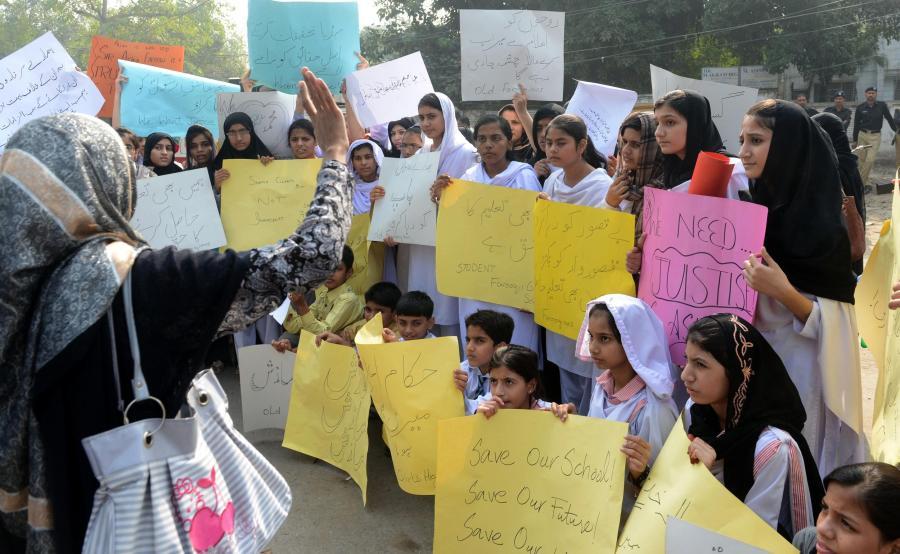 PAKISTAN-RELIGION-BLASPHEMY-SCHOOL