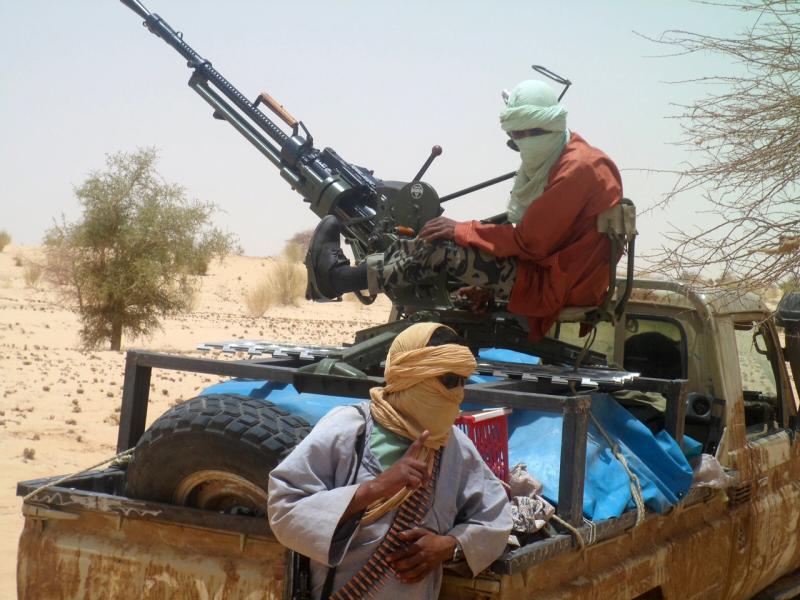 Rebellen in Timbuktu