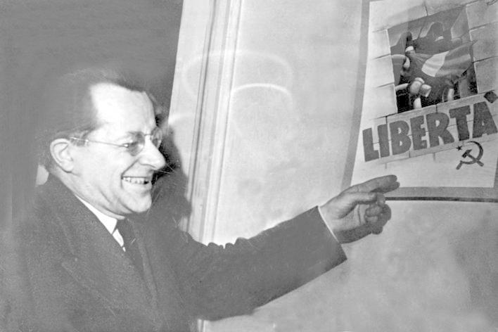 """Auch ein """"Ercoli"""" stand auf der Gästeliste. Es handelte sich dabei um Palmiro Togliatti, 1947 bis 1964 Chef der italienischen KP. Hinter dem Namen """"Walter""""..."""