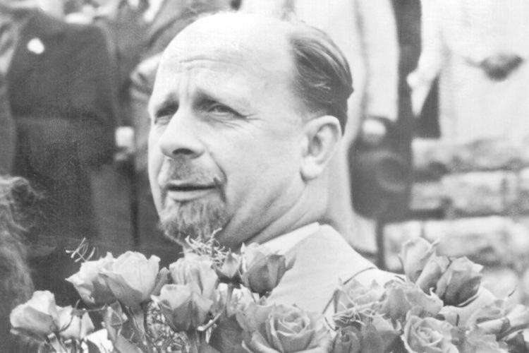... Walter Ulbricht, 1960 bis 1973 Staatsratsvorsitzender in der DDR.
