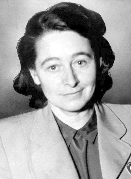 ... kam ihr Ehemann ums Leben: Die Schriftstellerin und Publizistin Margarete Buber-Neumann, verheiratet mit dem deutschen Kommunisten Heinz Neumann.