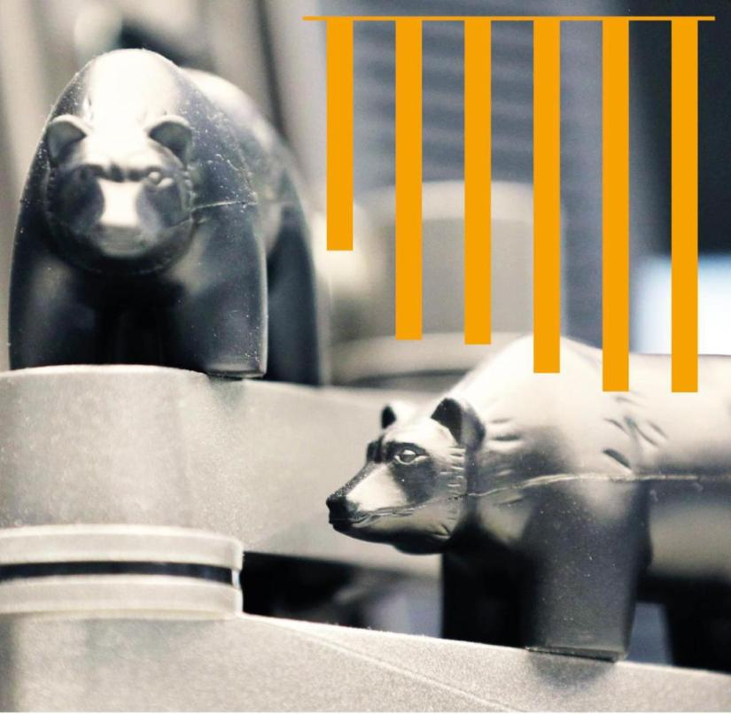 The bear, symbol of falling prices on the stock exchange, could accompany some companies even longer