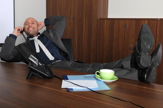 Chefs oft weniger gestreßt als einfache Angestellte