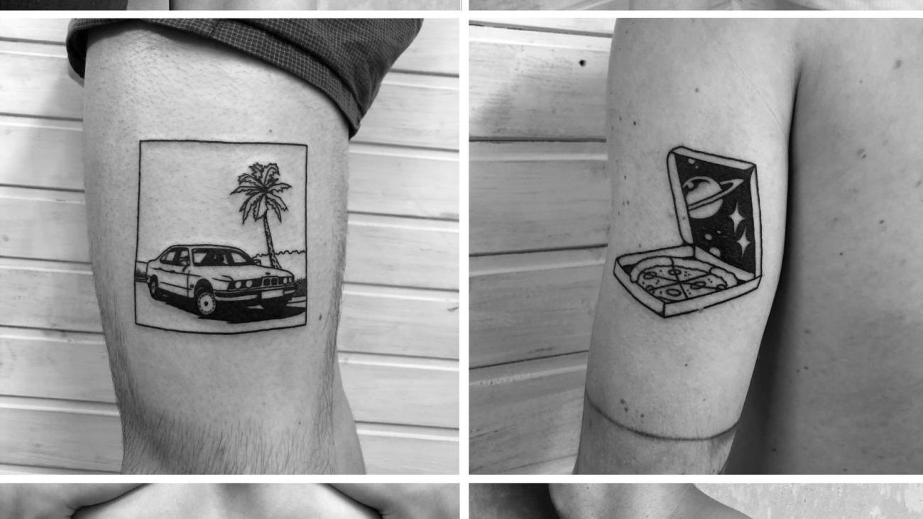 Tat Frank Wo Wir Schon Beim Fussball Sind Tattoos Von Tattoo