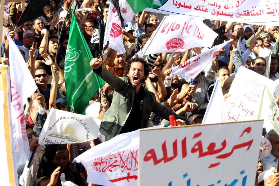 Islamisten demonstrieren in Kairo