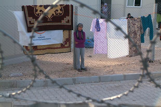 Flüchtlingslager für syrische Flüchtlinge in der Türkei