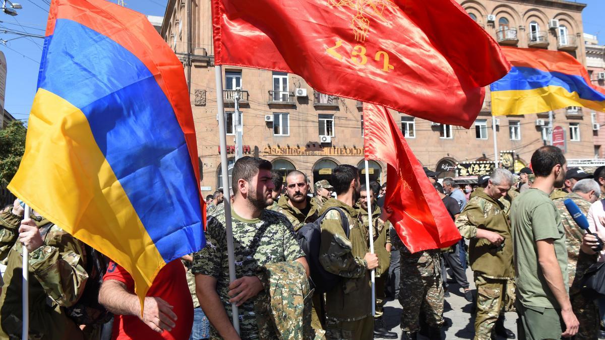 Schwere Kämpfe in aserbaidschanischer Region