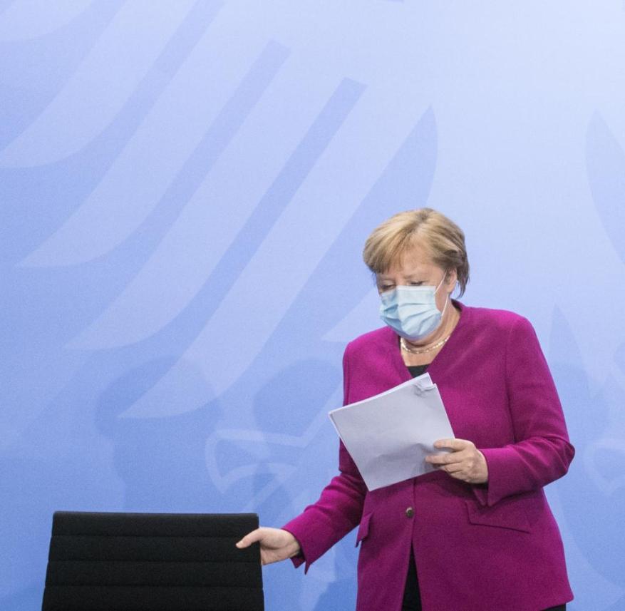 HEALTH-CORONAVIRUS/GERMANY MERKEL