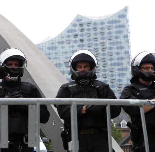 G20 Gipfel - Sicherheit