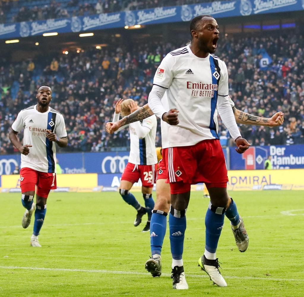 Hamburger Sv Sieg Gegen Dynamo Dresden War Ein Kraftakt Welt