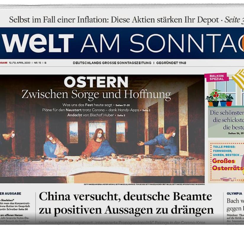 WELT AM SONNTAG from April 12, 2020