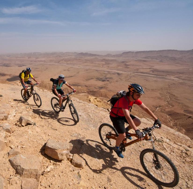 Israel: If you want to explore the Negev by mountain bike, you should be in good physical condition