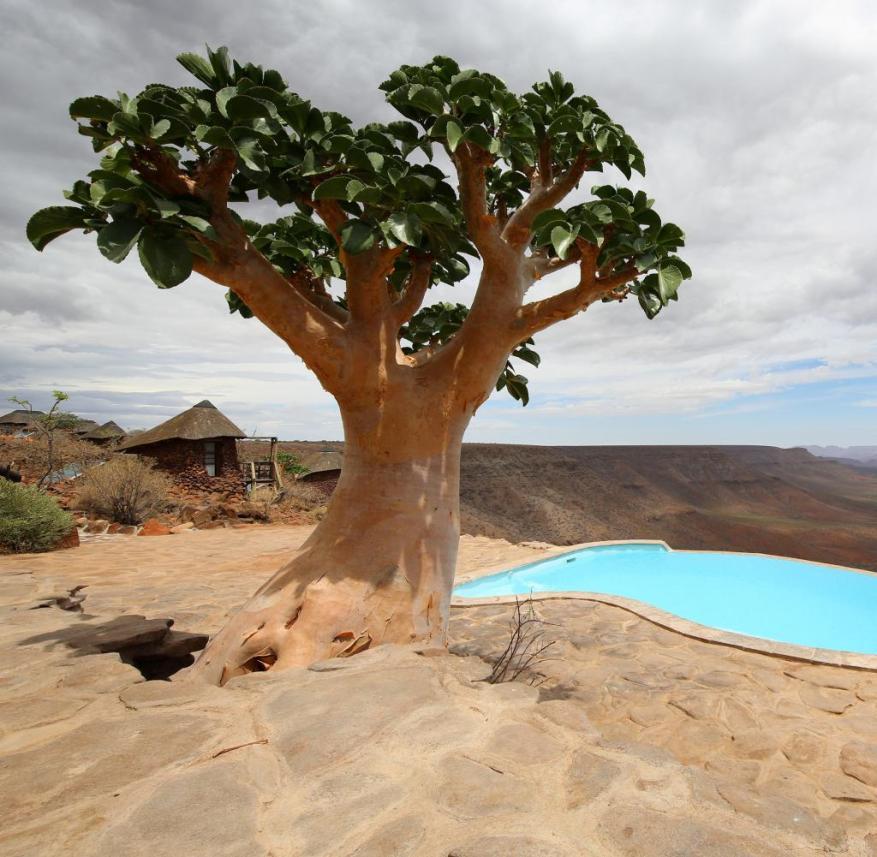 Grootberg Lodge on the Etendeka Plateau in Namibia