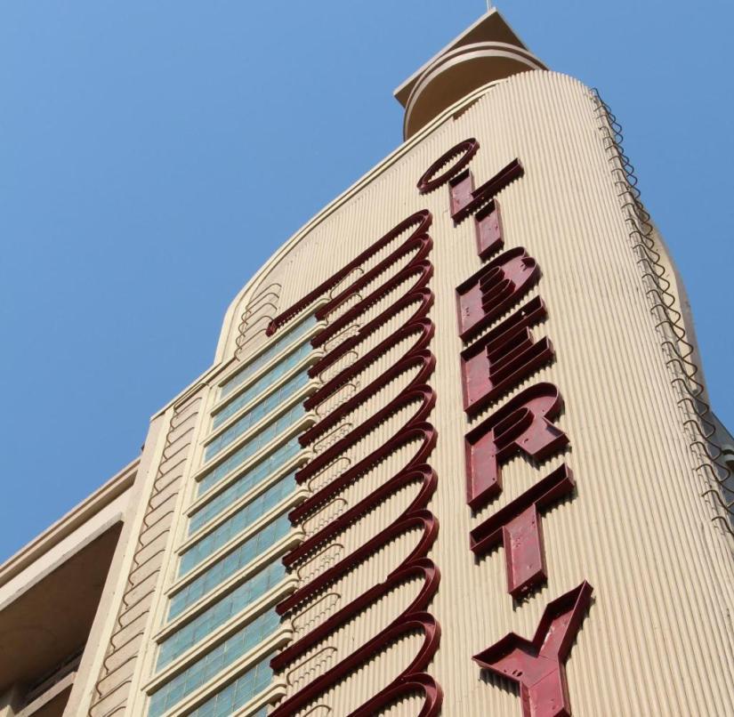 Piano keys on the facade: the Art Deco Liberty cinema in Mumbai (India)