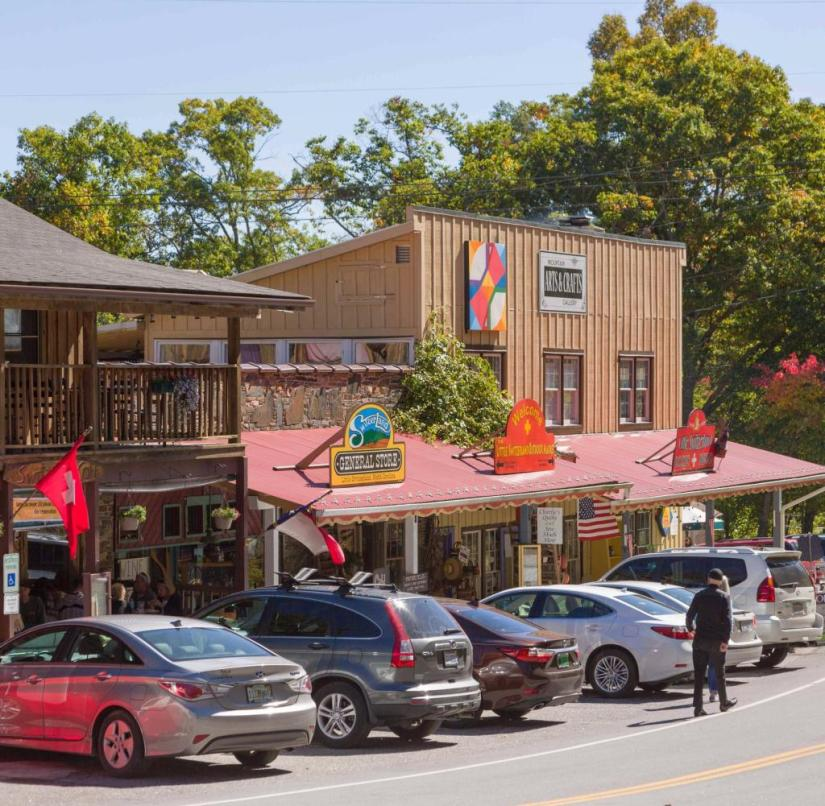 Wild West with a Swiss touch: This place in North Carolina has been called Little Switzerland since 1910, alluding to the surrounding mountains