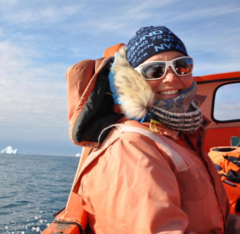 Birgit Lutz has been to Greenland 15 times
