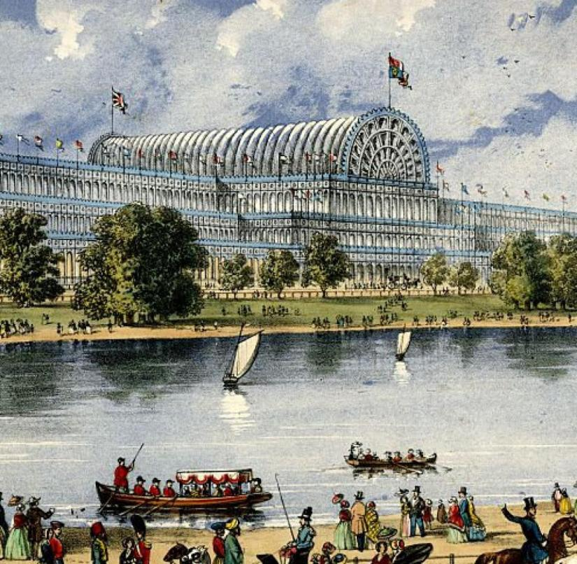 the world exhibition in London's Crystal Palace 1851