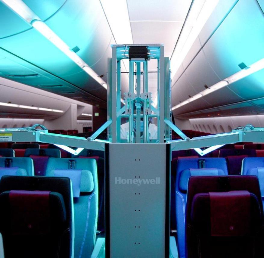 Qatar Airways uses UV light against viruses