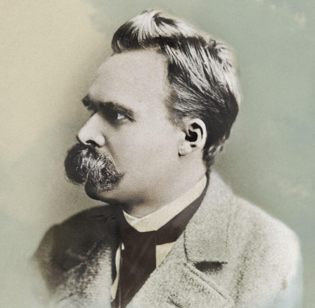 Als Spinner Belachelt Der Philosoph Friedrich Nietzsche
