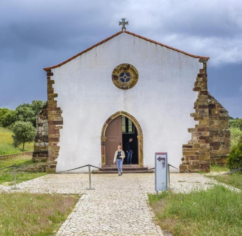 Die Kirche Nossa Senhora de Guadalupe (Algarve, Portugal)