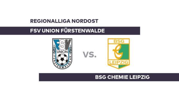 FSV Union Fürstenwalde - BSG Chemie Leipzig: Leipzig sichert sich einen Zähler - Regionalliga Nordost - WELT