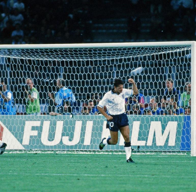 World Cup 1990 semi-finals Germany - England