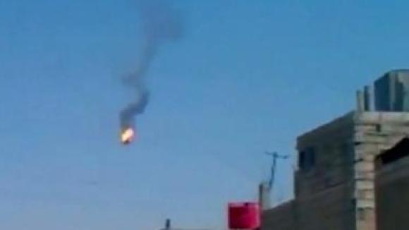 Rebellen haben einen Hubschrauber der Armee abgeschossen