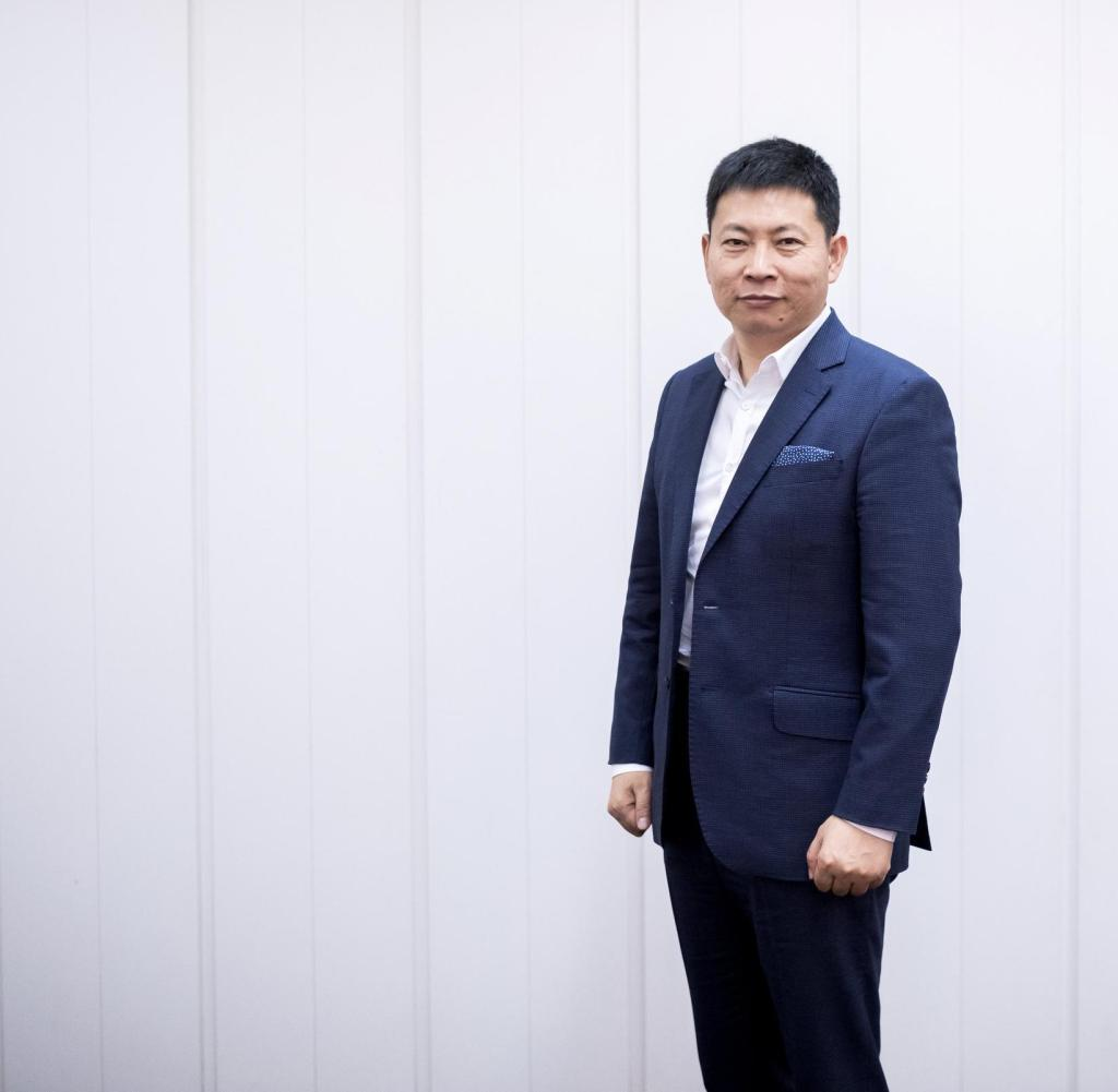 Richard Yu, CEO der Huawei Technologies Consumer Business Group, steht am 02.09.2017 in Berlin auf der Elektronikmesse IFA. | Verwendung weltweit