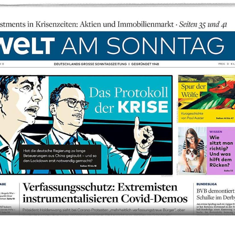WELT AM SONNTAG from May 17th, 2020