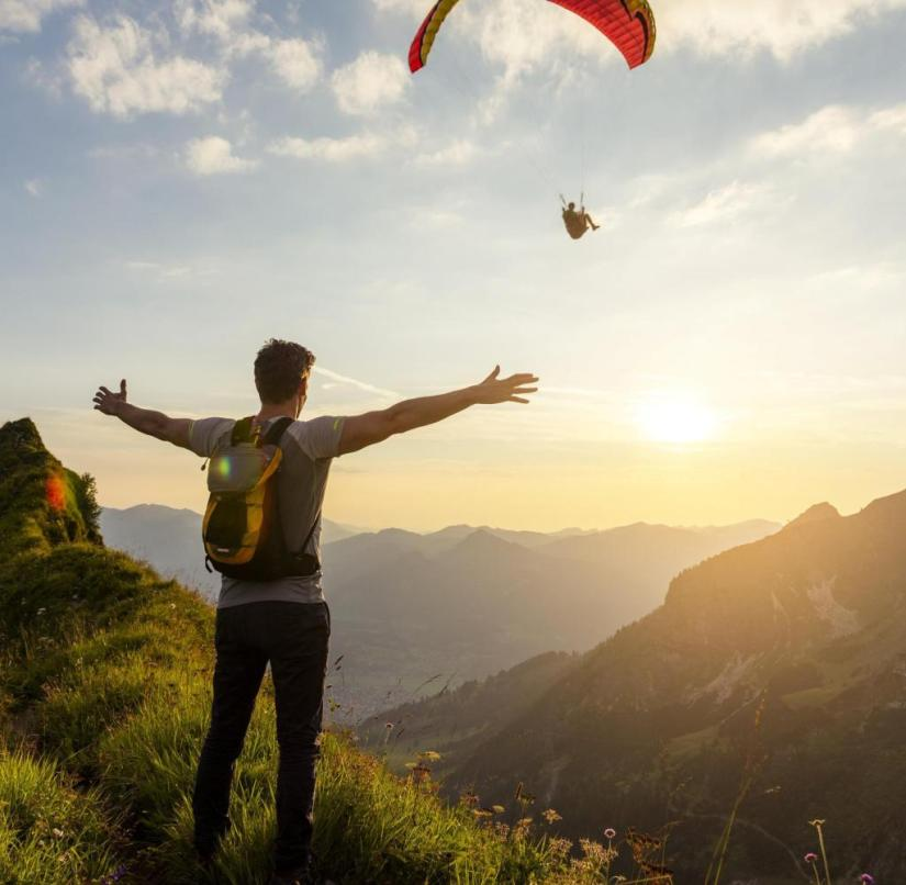 Paragliding in the Allgäu: Suddenly there is a question mark even behind the domestic vacation
