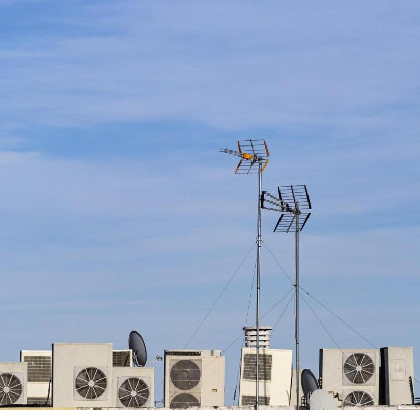 Air conditioning on the roof: business is booming