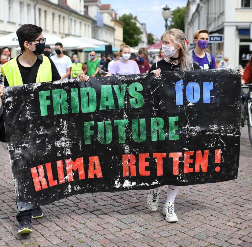 Most young people seem to be interested in Fridays for Future only in the analogue world