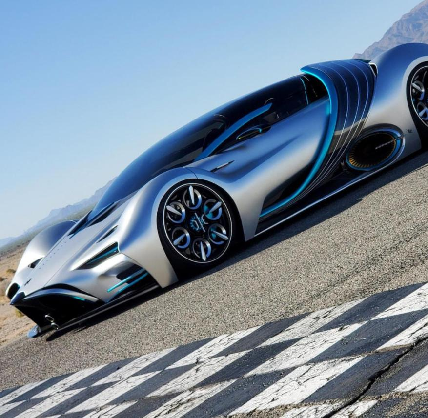 Hyperion - Hydrogen Powered Electric Supercar