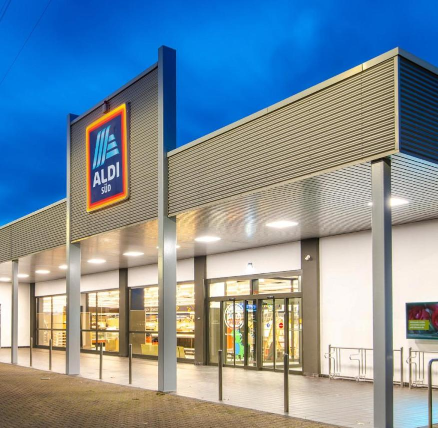 With 1940 square meters, the Mühlheimer Aldi is the largest in the world