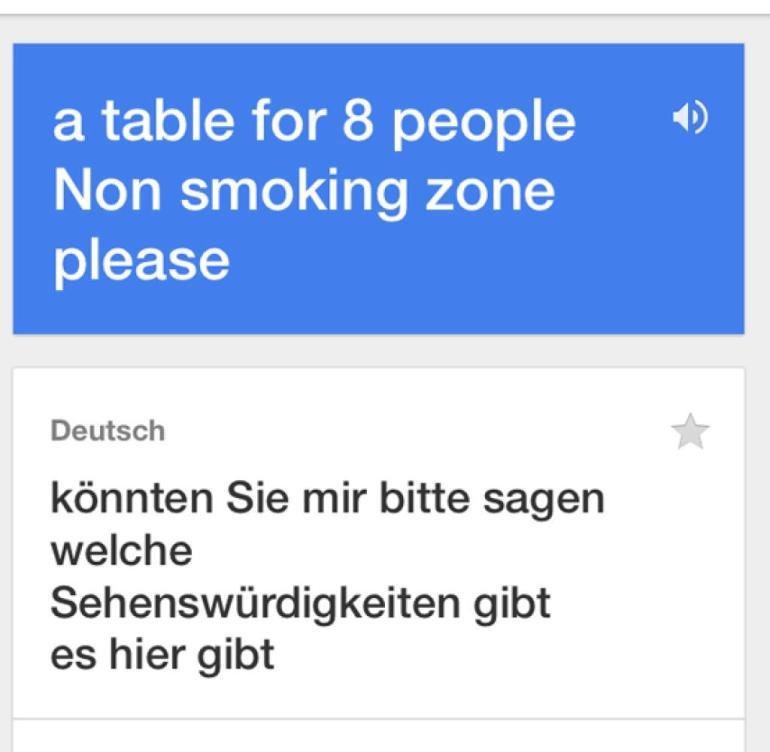 Englisch übersetzer mit sprache